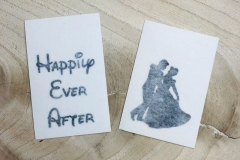 HAPPILY-EVER-AFTER Stickers - 100 DKK